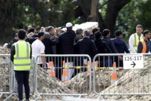 Update: Father, son are first mosque dead to be buried