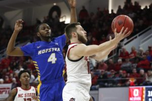 Johnson scores 26 to lift NC State past Hofstra 84-78 in NIT