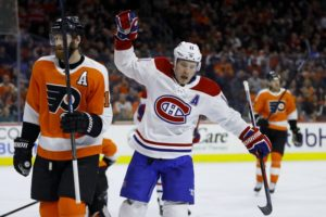 Canadiens beat listless Flyers 3-1