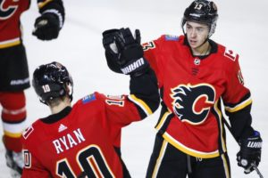 Flames topple Blue Jackets 4-2