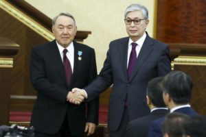 Update: Outgoing Kazakh leader's daughter named speaker