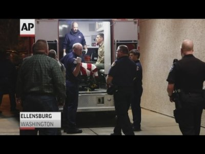A sheriff's deputy was killed in central Washington state and a police officer was shot and wounded after they exchanged gunfire with a road rage driving suspect, authorities said Wednesday. (March 20)