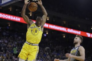 Durant helps lead Warriors past Pacers after friend's death