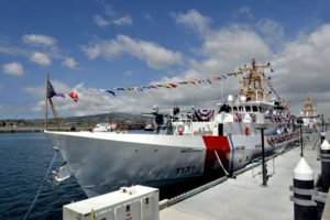 Coast Guard commissions ship named for slain petty officer