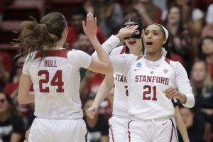 Alanna Smith leads second-seeded Stanford into second round