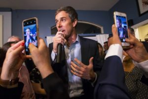 O'Rourke in Nevada praises immigrants, calls for legal pot