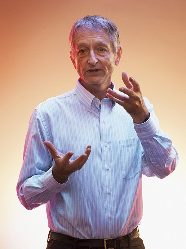 This undated photo provided by Google shows Geoffrey Hinton, vice president and engineering fellow at Google and emeritus professor at the University of Toronto. (Daniel Ehrenworth/Google via AP)