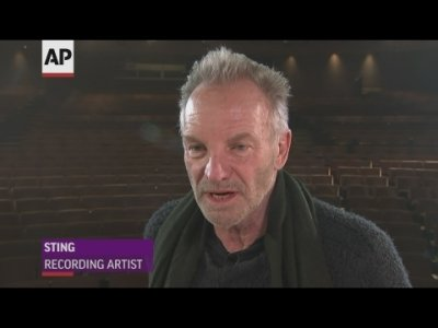 Sting says that he hopes that Brexit will 'go away, adding that he wants England to be part of Europe and that leaving is 'insane. (March 27)