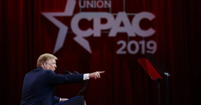 Top 8 moments from President Trump's speech at CPAC 2019