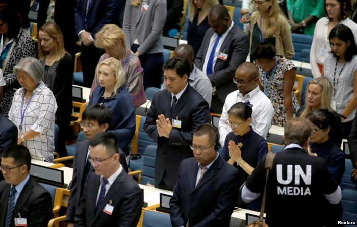 Delegates at the United Nations Environment Programme (UNEP) world environmen