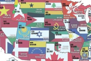 How US states are richer than some foreign nations