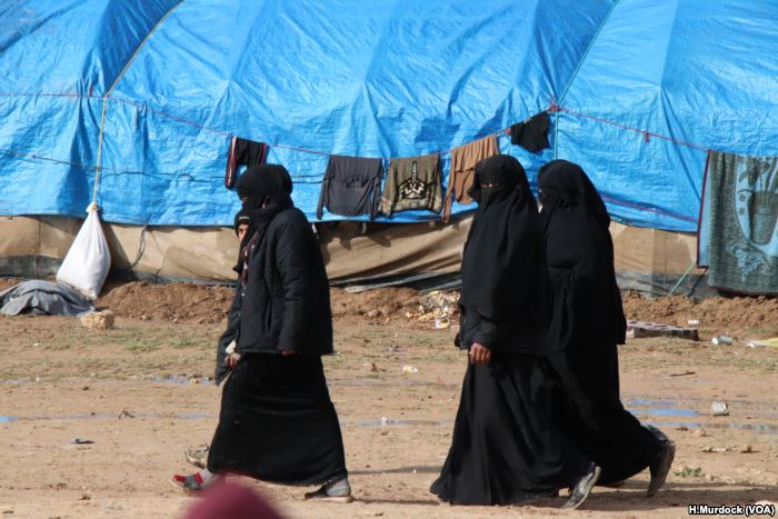 More than 90 percent of the population of al-Hol camp are women and children,
