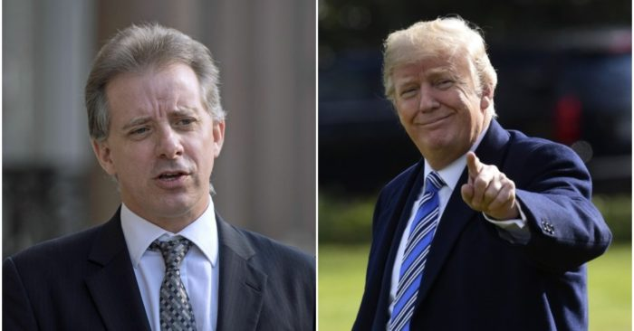 Here's how the Steele dossier spread through the media and government