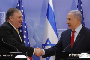 US has softened its position on Israeli settlements in West Bank says Pompeo