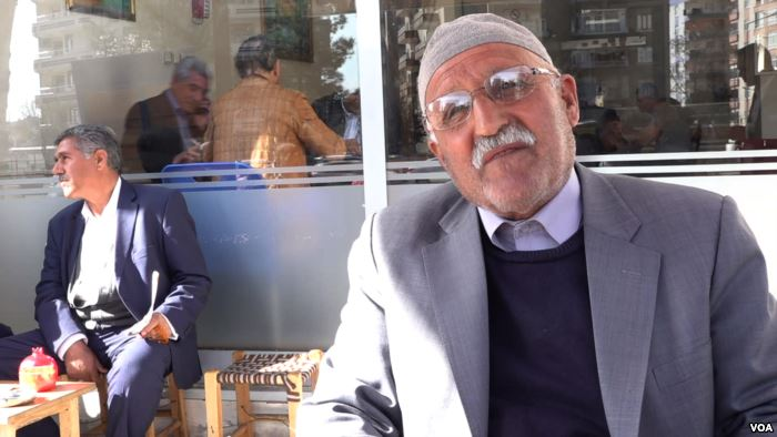 Retiree Seydat predicts strong support for the HDP because of voter anger ove