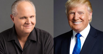 Rush Limbaugh makes way for President Trump to host talkback radio from the White House
