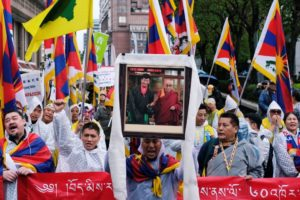 Tibet supporters mark 60th anniversary of failed uprising against China