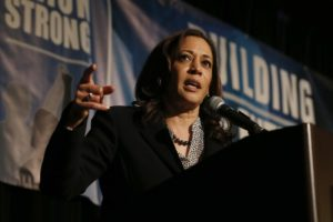 Kamala Harris in Sacramento to collect cash, talk to unions