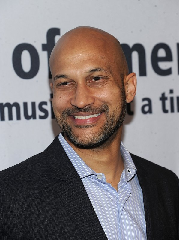 Keegan-Michael Key walks the red carpet at the Jazz Foundation of America's 17th annual