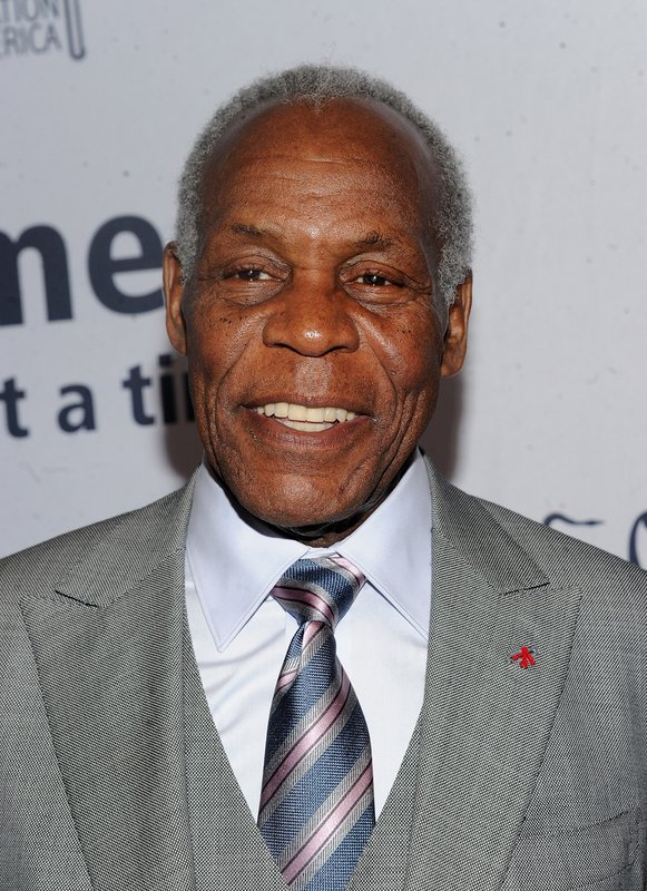 Danny Glover walks the red carpet at the Jazz Foundation of America's 17th annual