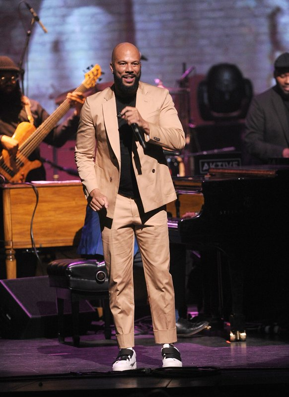 Common performs onstage at the Jazz Foundation of America's 17th annual