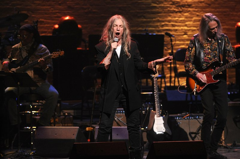 Patti Smith performs onstage at the Jazz Foundation of America's 17th annual