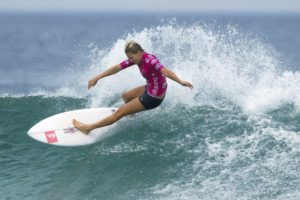 Seven-time surf champ Gilmore upset in Gold Coast QFs