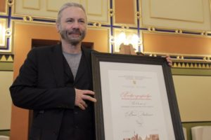 Iron Maiden singer made honorary citizen of Bosnia's capital