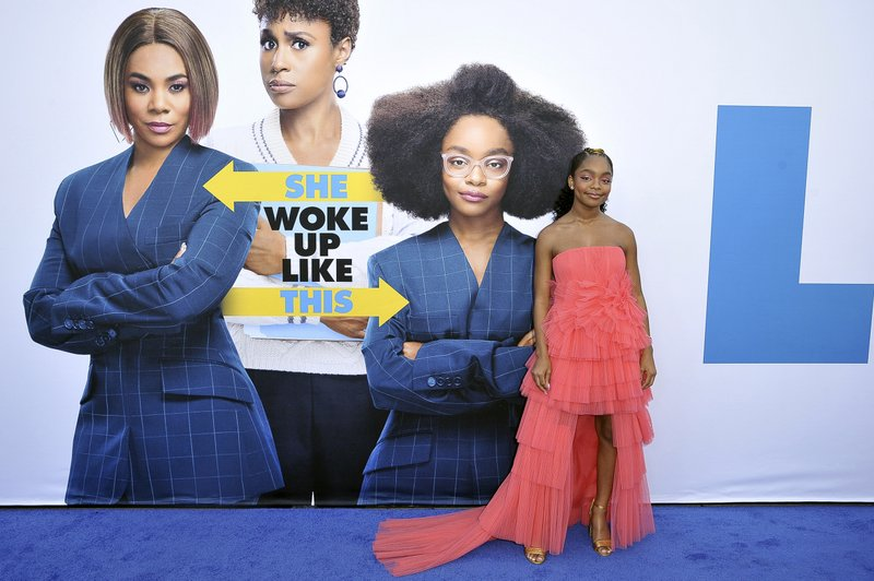 Marsai Martin attends the LA premiere of
