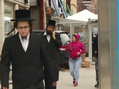 Residents of a predominantly ultra-Orthodox Jewish community in New York could face fines for failing to be vaccinated against the measles. (April 9)