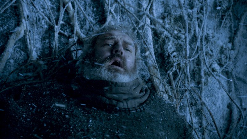 This image released by HBO shows Kristian Nairn portraying Hodor in a scene from