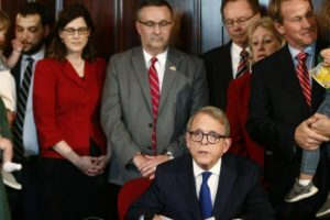 Ohio governor signs ban on abortion after 1st heartbeat