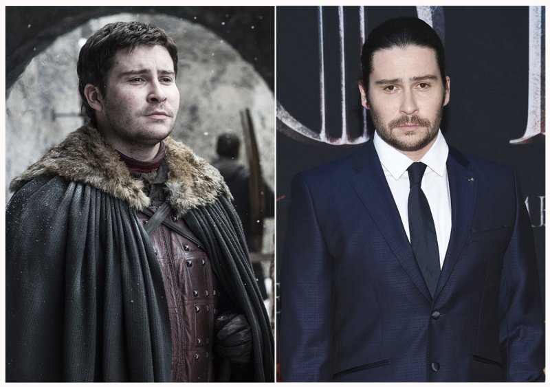 This combination photo shows Daniel Portman at HBO's