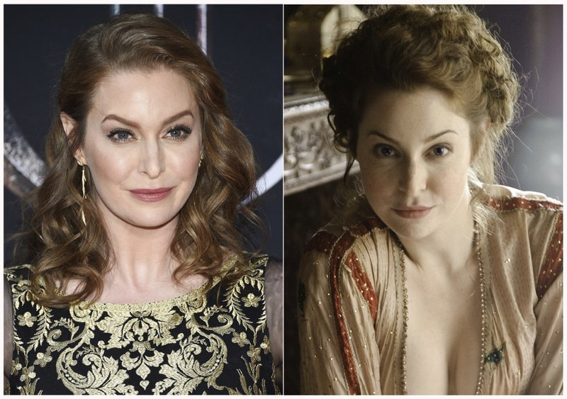 This combination photo shows Esmé Bianco at HBO's