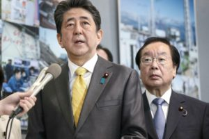 Japan's PM visits Fukushima nuke plant in revival message