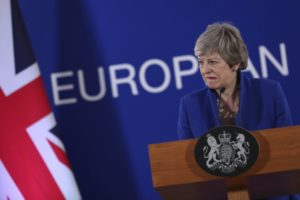 UK's Theresa May seeks respite from Brexit walking in Wales