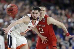 Virginia guard Ty Jerome declares for NBA draft