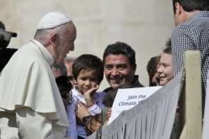 Greta takes climate change campaign to Vatican, meets pope