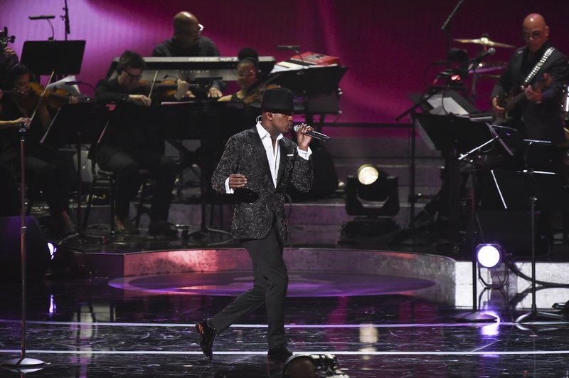 FILE - In this Feb. 12, 2019 file photo, Ne-Yo performs during Motown 60: A GRAMMY Celebration at the Microsoft Theater in Los Angeles. (Photo by Richard Shotwell/Invision/AP, File)