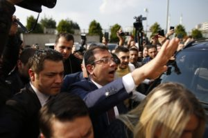 Govt opponent confirmed as Istanbul mayor, objection pending