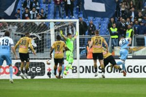 Lazio revives Champions League chances with win over Udinese