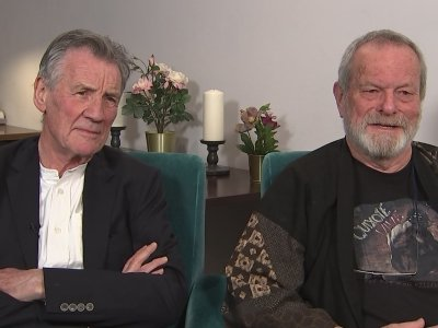 Michael Palin and Terry Gilliam from