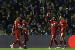 Liverpool beats Porto to return to Champions League semis