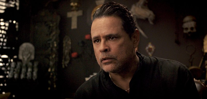 This image released by Warner Bros. Pictures shows Raymond Cruz in a scene from