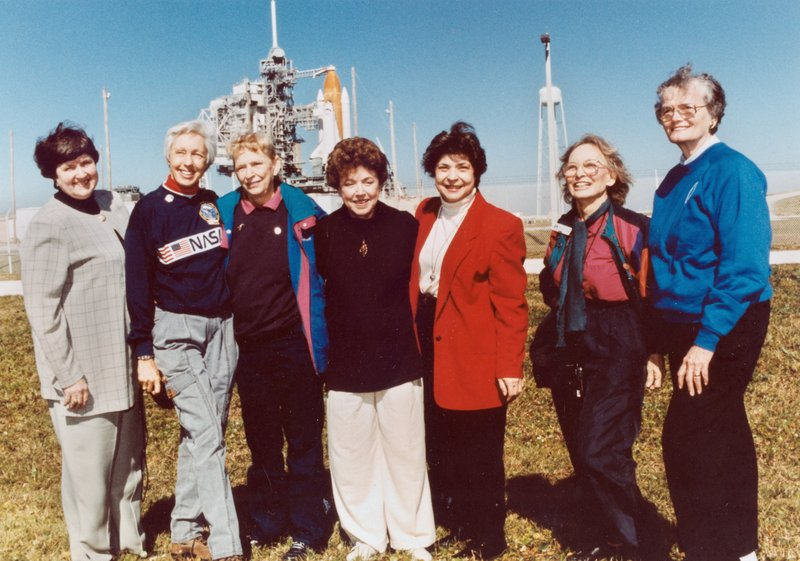 In this 1995 file photo, members of the FLATs, also known as the