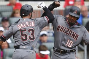Walker's 2-run HR helps Diamondbacks sweep Braves, 4-1