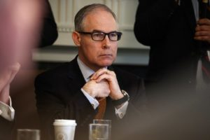 Ex-EPA chief Pruitt registers as energy lobbyist in Indiana
