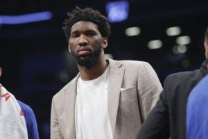 Embiid listed as doubtful for 76ers' Game 4 vs Nets