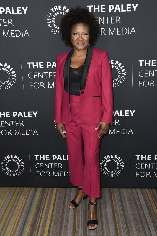 FILE - In this Thursday, Oct. 12, 2017 file photo, Wanda Sykes attends Paley Center's LA Gala Celebrating Women in Television at the Beverly Wilshire Hotel in Beverly Hills, Calif. (Photo by Richard Shotwell/Invision/AP, File)