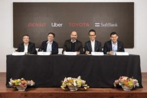Toyota, SoftBank fund, Denso invest $1 billion in Uber